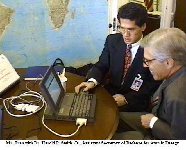 Asst. Secretary of Defense for Atomic Energy - Dr. Harold Smith