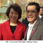 Fmr. U.S. Secretary of Labor - Elaine Chao