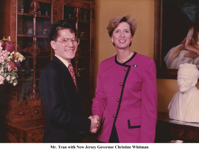 New Jersey Governor - Christine Whitman