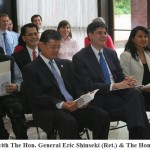 U.S. Secretary of Veterans Affairs - Gen. Eric Shinseki & U.S. Secretary of the Treasury - Jack Lew